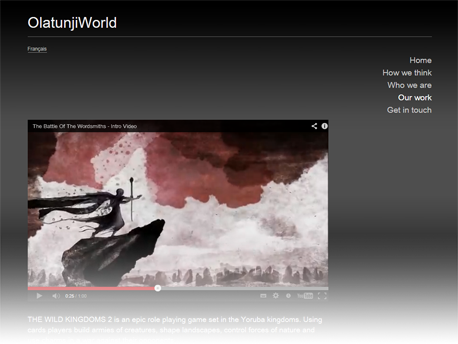 OlatunjiWorld site screenshot