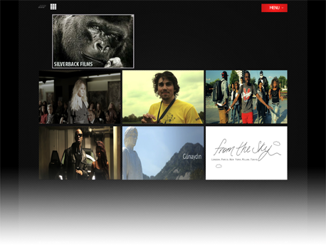 Silverback Films site screenshot